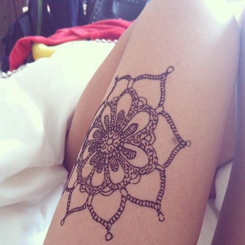 101 thigh tattoo ideas and designs for women zariascom - 500×500